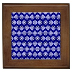 Abstract Knot Geometric Tile Pattern Framed Tiles