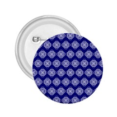Abstract Knot Geometric Tile Pattern 2.25  Buttons