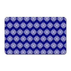 Abstract Knot Geometric Tile Pattern Magnet (Rectangular)