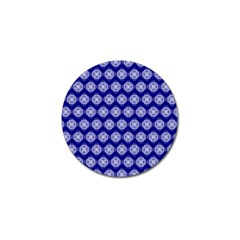 Abstract Knot Geometric Tile Pattern Golf Ball Marker