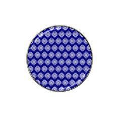 Abstract Knot Geometric Tile Pattern Hat Clip Ball Marker (4 Pack)