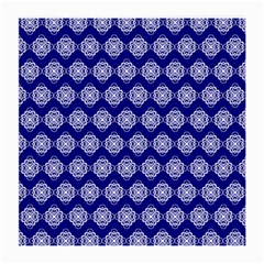 Abstract Knot Geometric Tile Pattern Medium Glasses Cloth by creativemom