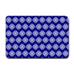 Abstract Knot Geometric Tile Pattern Small Doormat