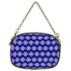 Abstract Knot Geometric Tile Pattern Chain Purses (Two Sides)