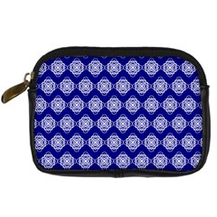 Abstract Knot Geometric Tile Pattern Digital Camera Cases