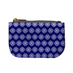 Abstract Knot Geometric Tile Pattern Mini Coin Purses