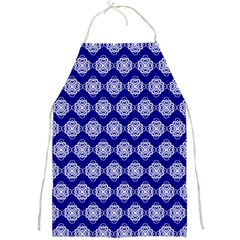 Abstract Knot Geometric Tile Pattern Full Print Aprons