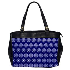 Abstract Knot Geometric Tile Pattern Office Handbags