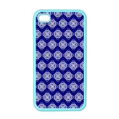 Abstract Knot Geometric Tile Pattern Apple iPhone 4 Case (Color)