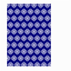 Abstract Knot Geometric Tile Pattern Large Garden Flag (Two Sides)