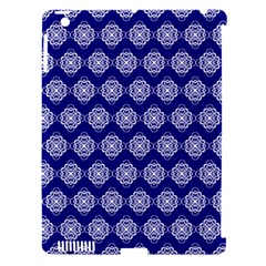 Abstract Knot Geometric Tile Pattern Apple iPad 3/4 Hardshell Case (Compatible with Smart Cover)