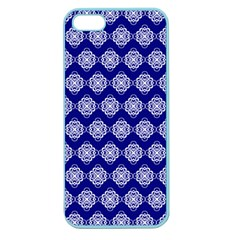 Abstract Knot Geometric Tile Pattern Apple Seamless iPhone 5 Case (Color)