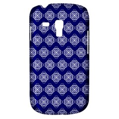 Abstract Knot Geometric Tile Pattern Samsung Galaxy S3 Mini I8190 Hardshell Case by creativemom