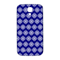 Abstract Knot Geometric Tile Pattern Samsung Galaxy S4 I9500/I9505  Hardshell Back Case