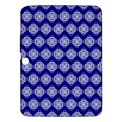 Abstract Knot Geometric Tile Pattern Samsung Galaxy Tab 3 (10.1 ) P5200 Hardshell Case