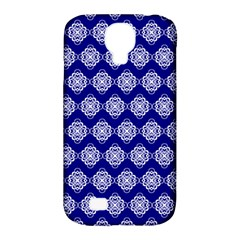Abstract Knot Geometric Tile Pattern Samsung Galaxy S4 Classic Hardshell Case (PC+Silicone)