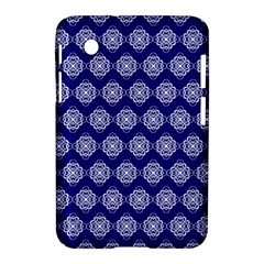 Abstract Knot Geometric Tile Pattern Samsung Galaxy Tab 2 (7 ) P3100 Hardshell Case
