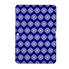 Abstract Knot Geometric Tile Pattern Samsung Galaxy Tab 2 (10.1 ) P5100 Hardshell Case