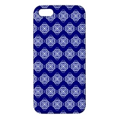 Abstract Knot Geometric Tile Pattern iPhone 5S Premium Hardshell Case