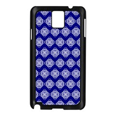 Abstract Knot Geometric Tile Pattern Samsung Galaxy Note 3 N9005 Case (Black)