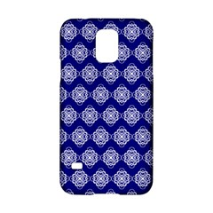 Abstract Knot Geometric Tile Pattern Samsung Galaxy S5 Hardshell Case