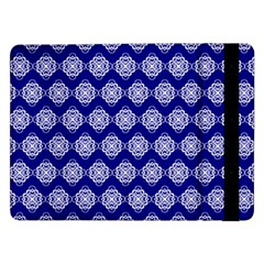 Abstract Knot Geometric Tile Pattern Samsung Galaxy Tab Pro 12.2  Flip Case