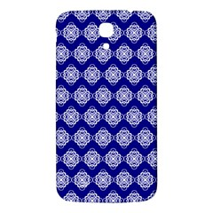 Abstract Knot Geometric Tile Pattern Samsung Galaxy Mega I9200 Hardshell Back Case
