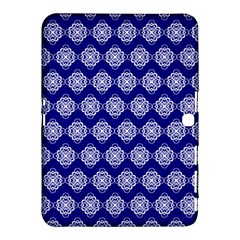 Abstract Knot Geometric Tile Pattern Samsung Galaxy Tab 4 (10.1 ) Hardshell Case