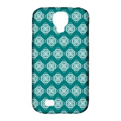 Abstract Knot Geometric Tile Pattern Samsung Galaxy S4 Classic Hardshell Case (pc+silicone) by creativemom