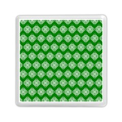 Abstract Knot Geometric Tile Pattern Memory Card Reader (square)  by creativemom