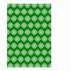 Abstract Knot Geometric Tile Pattern Small Garden Flag (two Sides) by creativemom