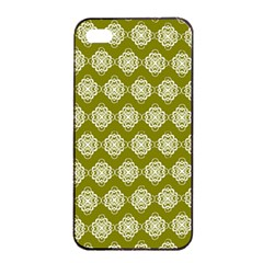 Abstract Knot Geometric Tile Pattern Apple Iphone 4/4s Seamless Case (black) by creativemom