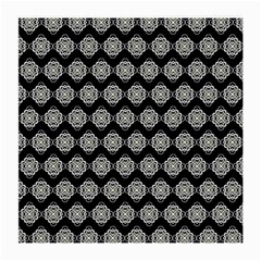 Abstract Knot Geometric Tile Pattern Medium Glasses Cloth (2 Side) by creativemom