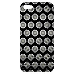Abstract Knot Geometric Tile Pattern Apple Iphone 5 Hardshell Case by creativemom