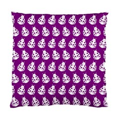 Ladybug Vector Geometric Tile Pattern Standard Cushion Case (one Side)