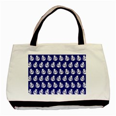 Ladybug Vector Geometric Tile Pattern Basic Tote Bag (two Sides)