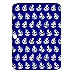 Ladybug Vector Geometric Tile Pattern Samsung Galaxy Tab 3 (10 1 ) P5200 Hardshell Case  by creativemom