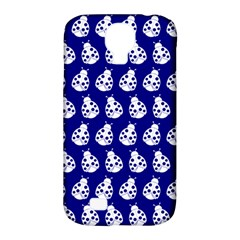 Ladybug Vector Geometric Tile Pattern Samsung Galaxy S4 Classic Hardshell Case (pc+silicone)