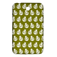 Ladybug Vector Geometric Tile Pattern Samsung Galaxy Tab 3 (7 ) P3200 Hardshell Case  by creativemom