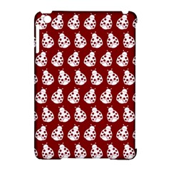 Ladybug Vector Geometric Tile Pattern Apple Ipad Mini Hardshell Case (compatible With Smart Cover)