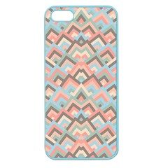 Trendy Chic Modern Chevron Pattern Apple Seamless Iphone 5 Case (color) by creativemom