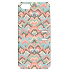 Trendy Chic Modern Chevron Pattern Apple Iphone 5 Hardshell Case With Stand by creativemom