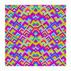 Colorful Trendy Chic Modern Chevron Pattern Medium Glasses Cloth (2 Side) by creativemom