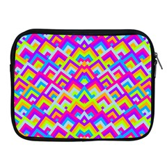 Colorful Trendy Chic Modern Chevron Pattern Apple Ipad 2/3/4 Zipper Cases by creativemom