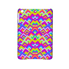 Colorful Trendy Chic Modern Chevron Pattern Ipad Mini 2 Hardshell Cases by creativemom