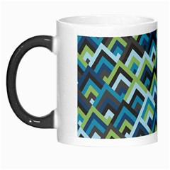 Trendy Chic Modern Chevron Pattern Morph Mugs by creativemom