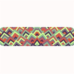 Trendy Chic Modern Chevron Pattern Large Bar Mats by creativemom