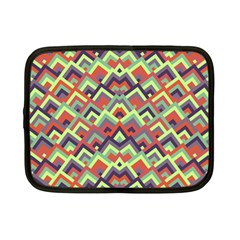 Trendy Chic Modern Chevron Pattern Netbook Case (small)  by creativemom