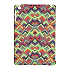 Trendy Chic Modern Chevron Pattern Apple Ipad Mini Hardshell Case (compatible With Smart Cover) by creativemom