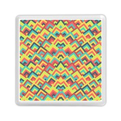 Trendy Chic Modern Chevron Pattern Memory Card Reader (square)